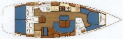 Bénéteau Oceanis 423 ( ISANDRA)